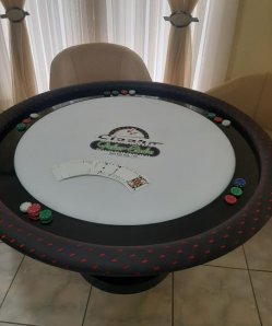 Mesa Poker Redonda 6 players cod. 10138